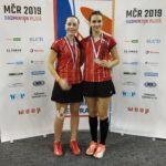 Majda s Denisou MČR 2019